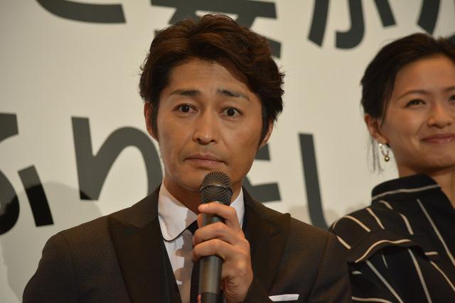 安田顕『家に帰ると妻が必ず死んだふりをしています。』完成披露試写会