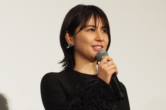 長澤まさみ/『キングダム』ワールドプレミア舞台挨拶