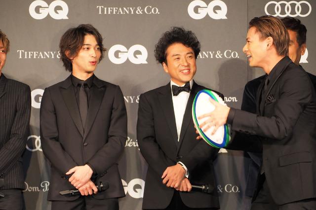 横浜流星&ムロツヨシ&平野紫耀/「GQ MEN OF THE YEAR 2019」授賞式