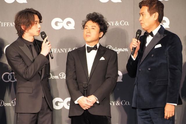 横浜流星&ムロツヨシ&石原良純/「GQ MEN OF THE YEAR 2019」授賞式