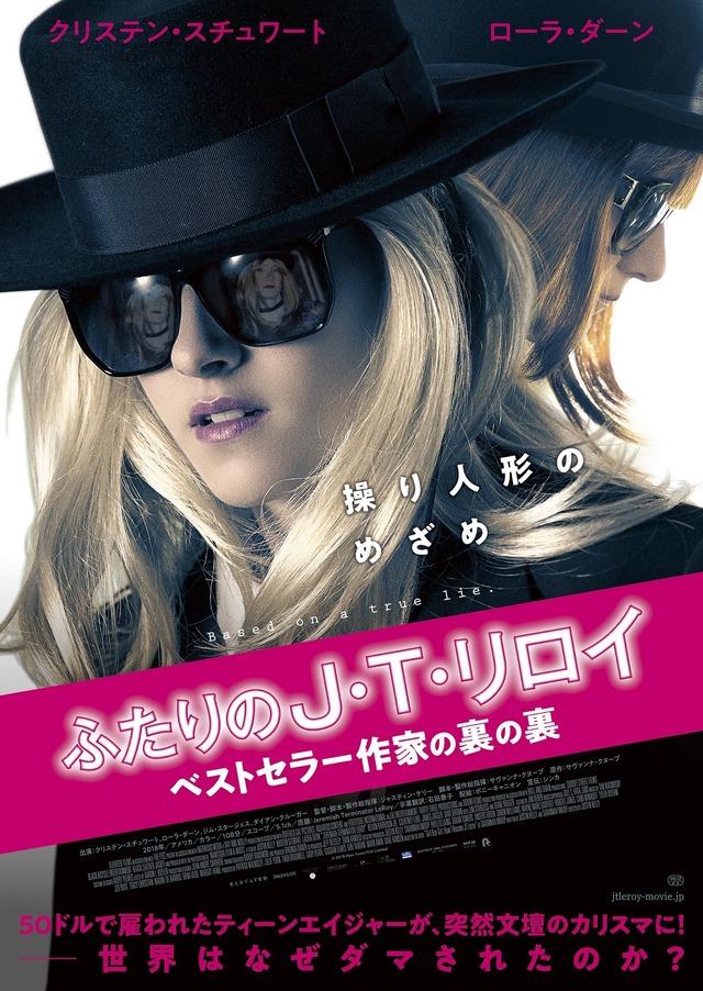 『ふたりの J・T・リロイ ベストセラー作家の裏の裏』 (C) 2018 Mars Town Film Limited
