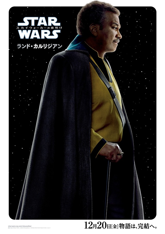 『スター・ウォーズ/スカイウォーカーの夜明け』ランド・カルリジアン (C)2019  Lucasfilm Ltd. All Rights Reserved.