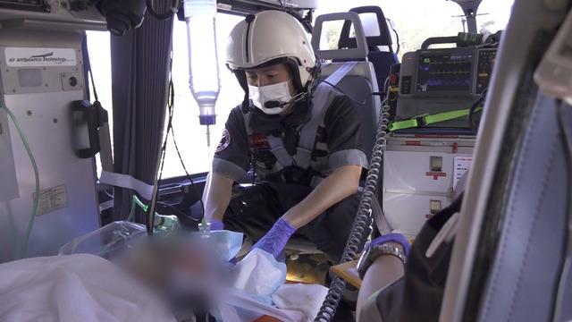 「実録ドクターヘリ緊急救命2-命の現場最前線-」(C)フジテレビ