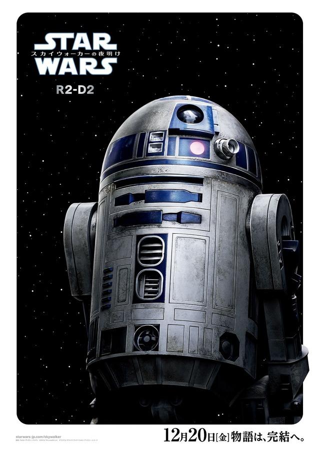 『スター・ウォーズ/スカイウォーカーの夜明け』R2-D2 (C)2019  Lucasfilm Ltd. All Rights Reserved.