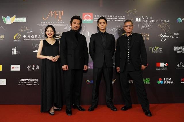 『初恋』マカオ国際映画祭 (C)2020「初恋」製作委員会