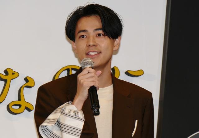 成田凌/『スマホを落としただけなのに』完成披露試写会