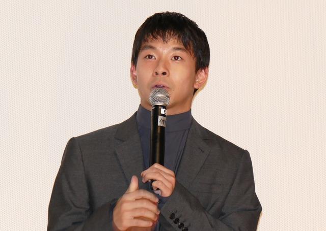 仲野太賀「タロウのバカ」の公開記念舞台挨拶