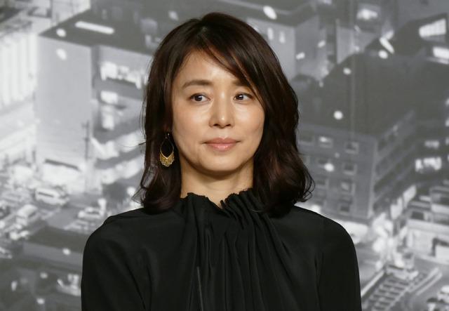 「サイレント・トーキョー」製作発表会見 石田ゆり子