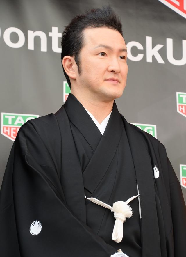 中村獅童/TAG Heuer 銀座 ブティックオープニングセレモニー