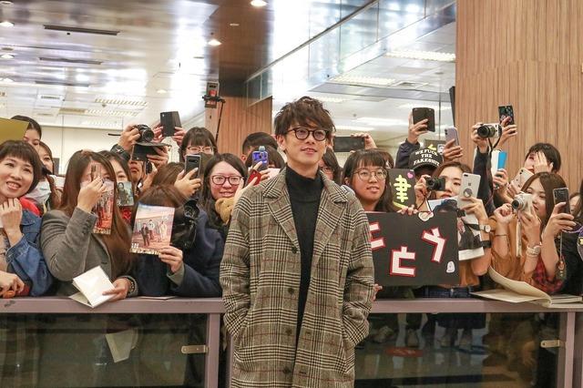 「台湾公開記念キャンペーン」空港にて『ひとよ』(c)2019「ひとよ」製作委員会