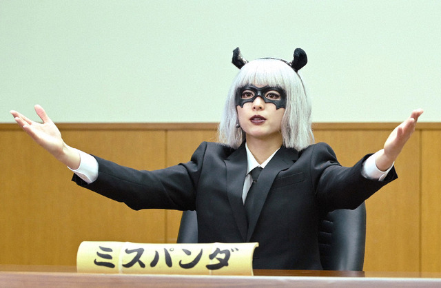 「シロでもクロでもない世界で、パンダは笑う。」第2話 (C) NTV