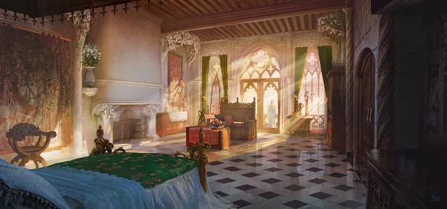 『マレフィセント2』アルステッド国王室(C)2020 Disney