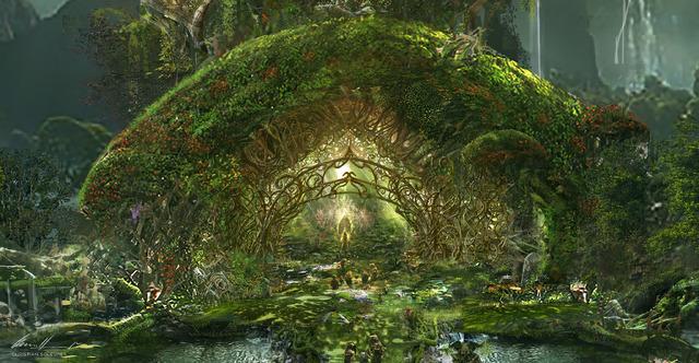 『マレフィセント2』オーロラ姫の城(C)2020 Disney
