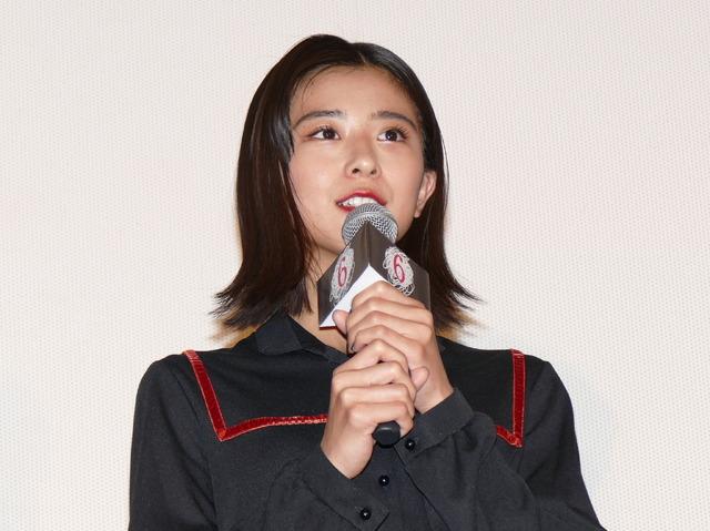『十二人の死にたい子どもたち』公開記念舞台挨拶 黒島結菜