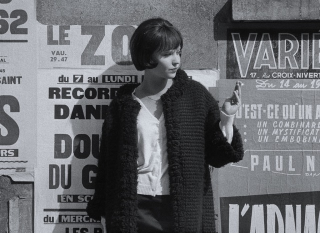 『女と男のいる舗道』Vivre sa vie(c)1962.LES FILMS DE LA PLEIADE.Paris