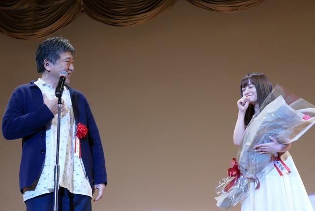 2020年第44回エランドール賞授賞式 是枝裕和監督 橋本環奈
