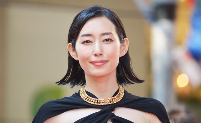 木村多江/「VOGUE JAPAN WOMEN OF THE YEAR 2017」の授賞式・記者会見