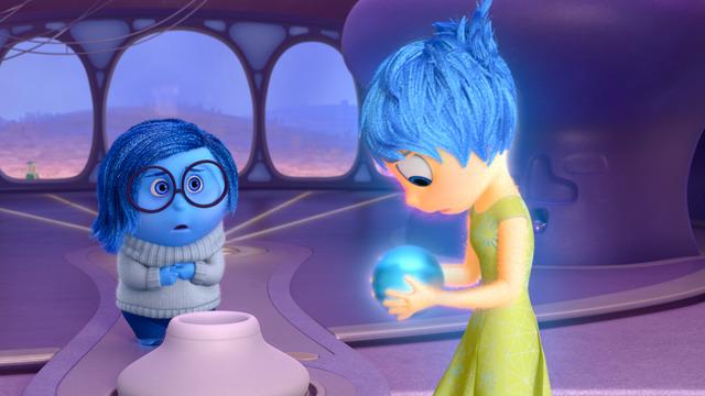 『インサイド・ヘッド』ディズニーデラックスで配信中(C)2020 Disney/Pixar. All Rights Reserved.