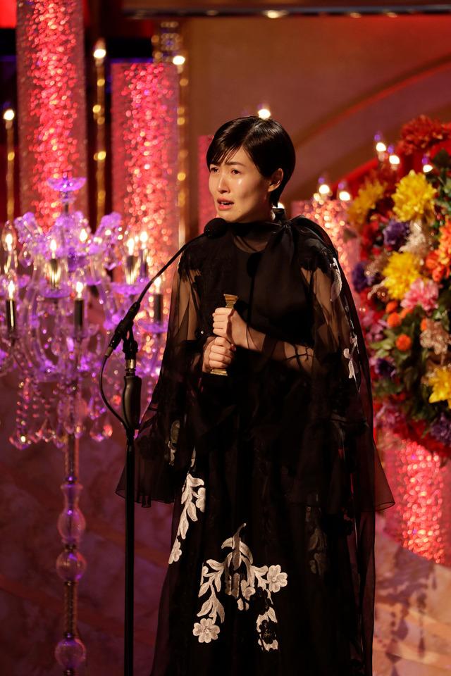 最優秀主演女優賞/シム・ウンギョン(C)日本アカデミー賞協会
