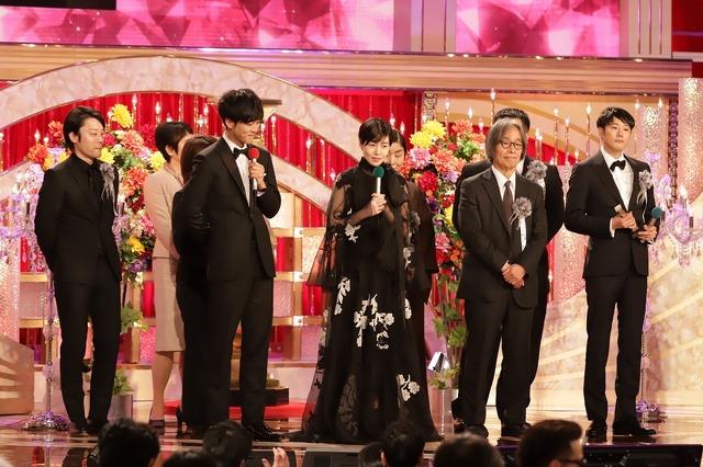 『新聞記者』第43回日本アカデミー賞授賞式(C)日本アカデミー賞協会