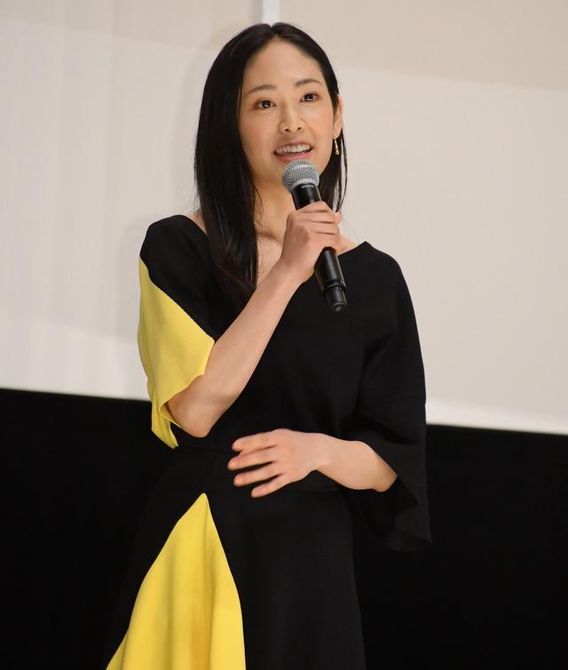 阿部純子/映画「孤狼の血」完成披露試写会