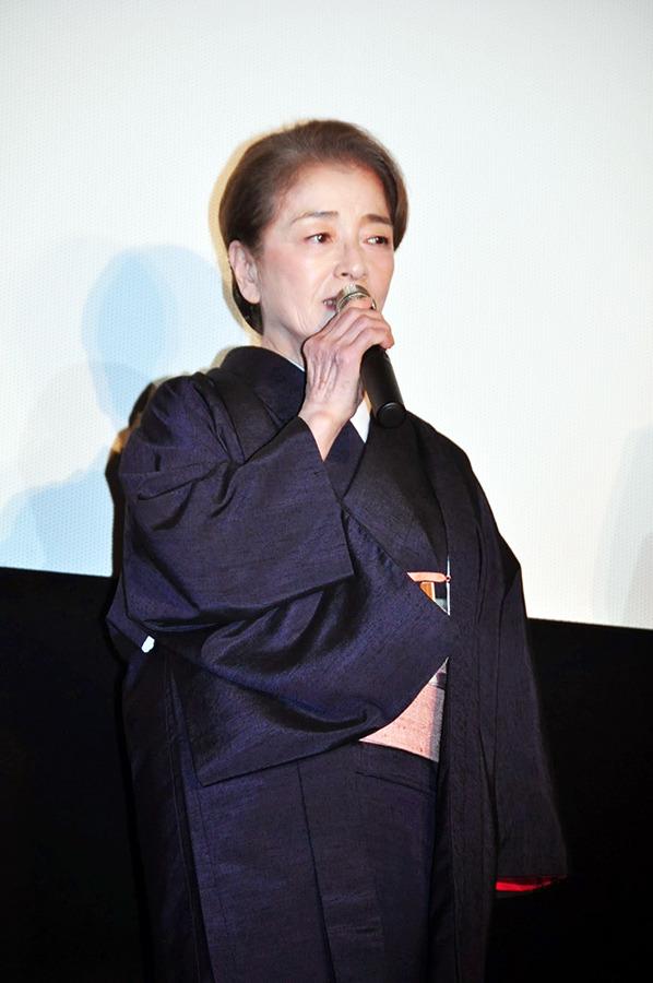 倍賞千恵子/『小さいおうち』初日舞台挨拶