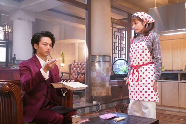 「美食探偵 明智五郎」Huluアナザーストーリー (C) NTV