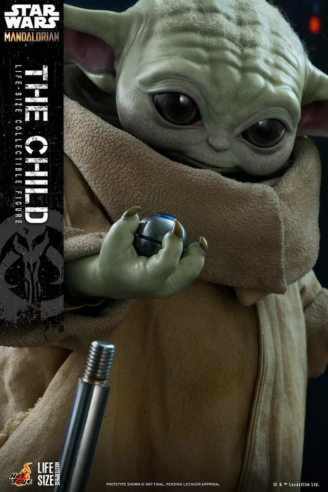 ホットトイズ「マンダロリアン」ザ・チャイルド (C) & TM Lucasfilm Ltd