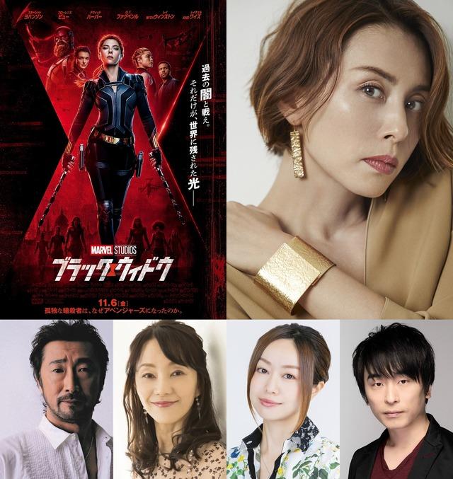『ブラック・ウィドウ』日本語版声優 (c)Marvel Studios 2020