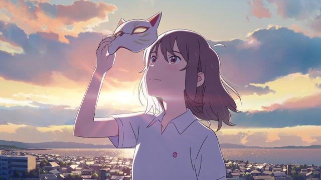 Netflixアニメ映画『泣きたい私は猫をかぶる』 (C) 2020 「泣きたい私は猫をかぶる」製作委員会