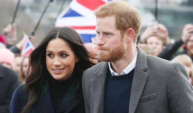 ヘンリー王子とメーガン・マークル-(C)Getty Images