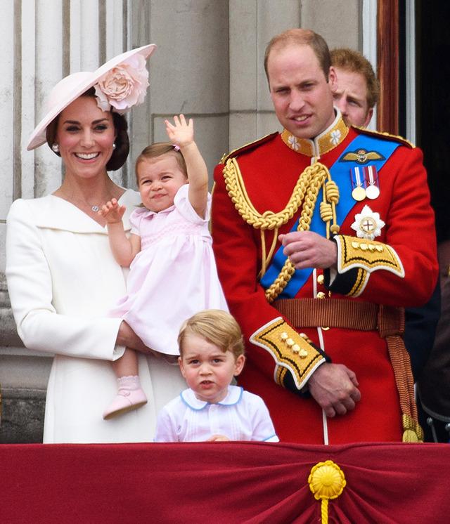 英ウィリアム王子&キャサリン妃&ジョージ王子 &シャーロット王女-(C)Getty Images