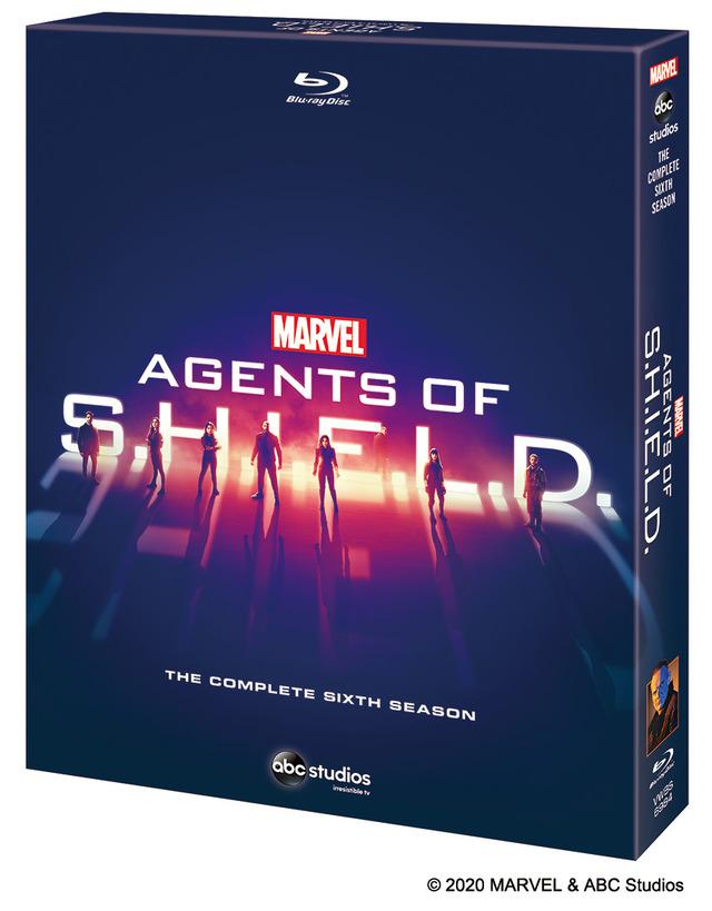 「エージェント・オブ・シールド シーズン6」COMPLETE BOX (C) 2020 MARVEL & ABC Studios