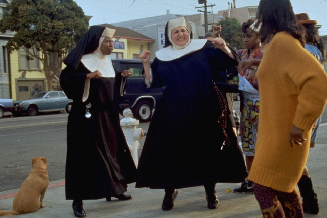 『天使にラブ・ソングを…』(C)Touchstone Pictures&(C)Buena Vista Pictures. All Rights Reserved.