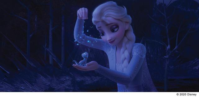 『アナと雪の女王2』サラマンダー(C) 2020 Disney