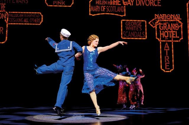 「おうちブロードウェイ」特集 ミュージカル「42ndストリート」(c)BroadwayHD/松竹 (c)Brinkhoff/Mogenburg