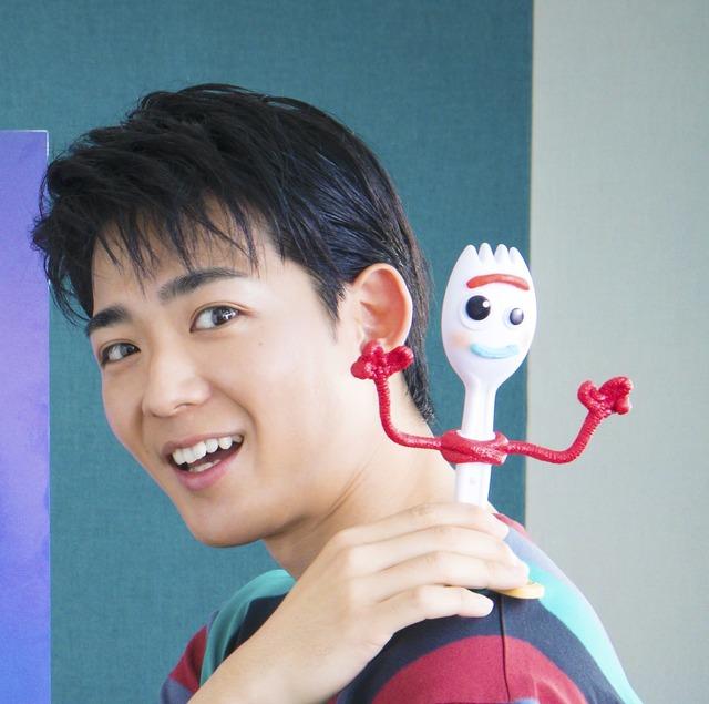 フォーキー役の竜星涼(C)  2020 Disney/Pixar