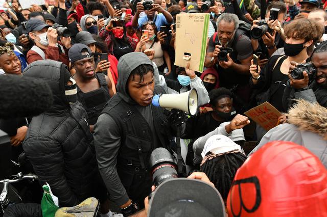 ジョン・ボイエガ Black Lives Matter Movement Inspires Protest In London Photo by Justin Setterfield/Getty Images