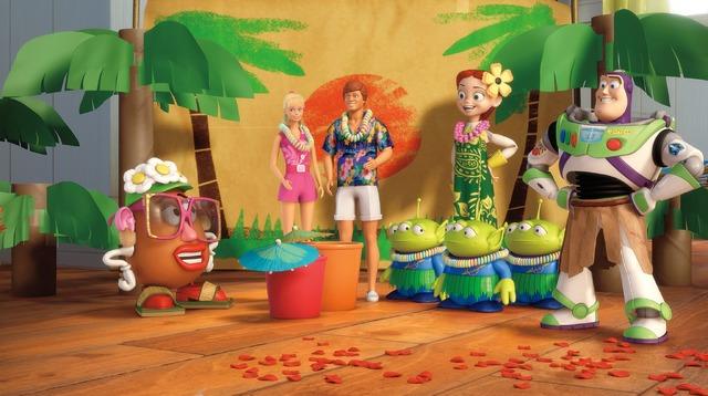 「トイ・ストーリー」シリーズ短編『ハワイアン・バケーション』(C) Disney/ Pixar