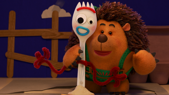 「フォーキーのコレって何?」 (C)2020 Disney/Pixar