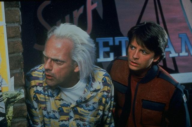 『バック・トゥ・ザ・フューチャー PART2』(C)1989 Universal City Studios and U Drive Productions, Inc. All Rights Reserved.