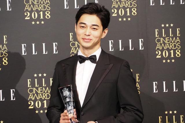 東出昌大/「エル シネマアワード2018」授賞式