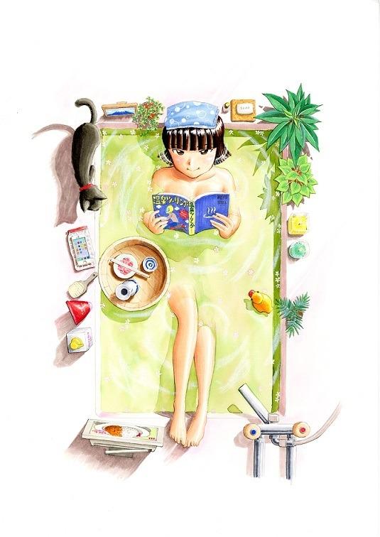 片山ユキヲ「ふろがーる!」(小学館「ビッグコミックスピリッツ」刊)(C)片山ユキヲ/小学館