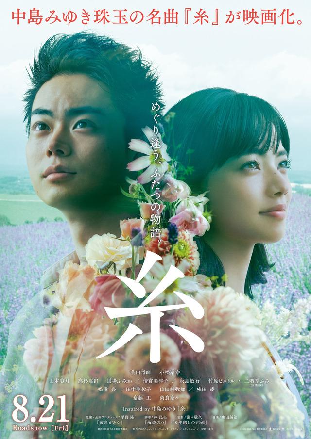 『糸』ポスタービジュアル(C)2020映画『糸』製作委員会