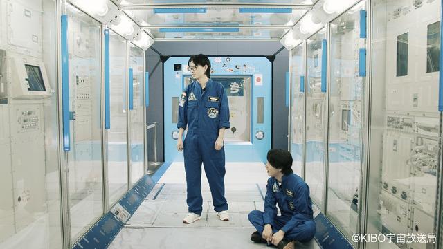 「きぼう」日本実験棟の実物大模型にて体感