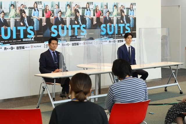 「SUITS/スーツ2」(C)フジテレビ