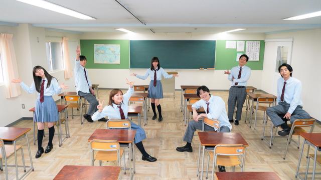 SPドラマ「リモートで殺される」高校生時代 笑顔バージョン