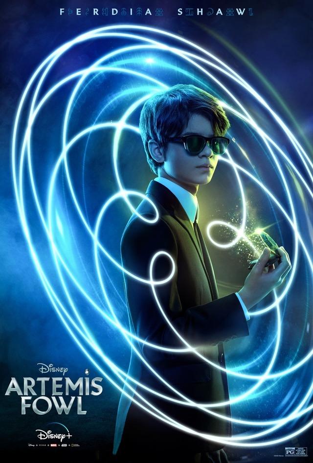『アルテミスと妖精の身代金』アルテウス(フェルディア・ショウ) (C)2020 Disney