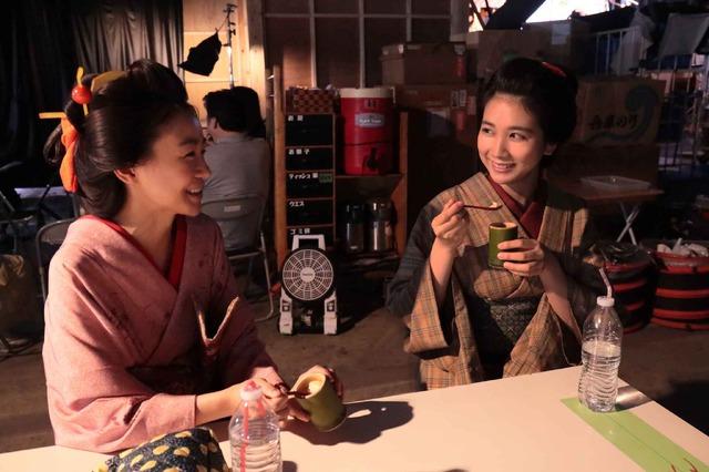 『みをつくし料理帖』メイキング(c) 2020映画「みをつくし料理帖」製作委員会
