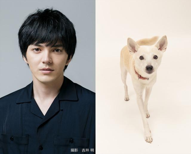 林遣都-ちえ(花子役)(C)2021「犬部!」製作委員会